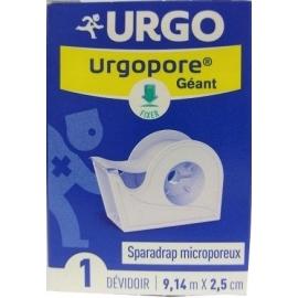 Urgo Urgopore Sparadrap Microporeux Dévidoir 5m x 2,5 cm