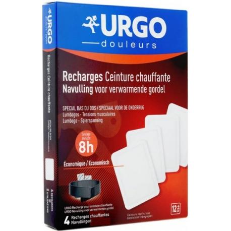 Urgo Douleurs Recharges Pour Ceinture Chauffante x 4