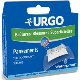 Urgo Brûlures - Blessures Superficielles Pansement Grand Format x 4