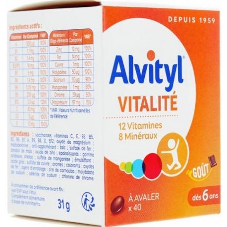 Alvityl vitalité comprimé x 40