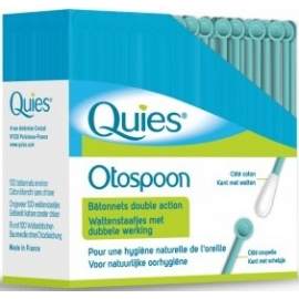 Quies Otospoon Bâtonnets Double Action x 100
