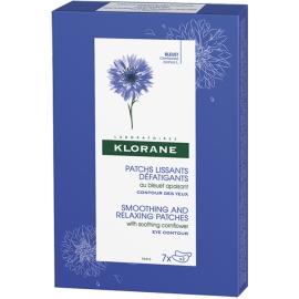 Klorane Bleuet Patchs Lissants Défatigants 7 x 2