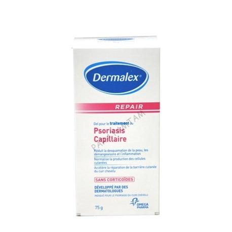 Dermalex Psoriasis capillaire gel 75 g