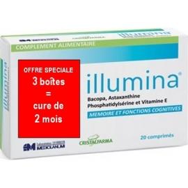 Illumina Memoire et Fonctions Cognitives 3 x 20 Comprimés
