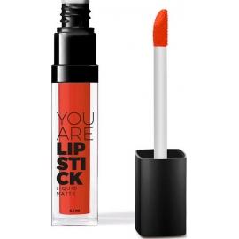 YOU ARE Rouge à Lèvres Liquide Mat Corail 6,2 ml