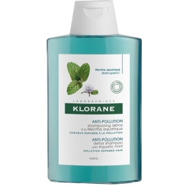 Klorane Shampooing détox à la Menthe aquatique 400 ml