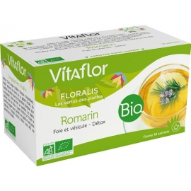 Vitaflor floralis tisane Bio Romarin 18 Sachets