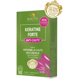 Biocyte Nutricosmetic Keratine Forte Anti-Chute 40 Gélules