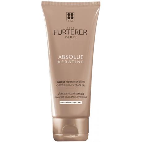 Furterer Absolue Kératine Masque Réparateur Ultime Cheveux épais 100 ml