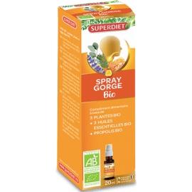 Superdiet Spray Gorge Bio 20 ml