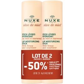 Nuxe Rêve de Miel  Stick Lèvres Hydratant 2 x 4 gr