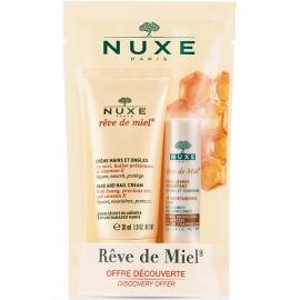 Nuxe Rève de Miel Crème Mains et Ongles 30 ML + Stick offert