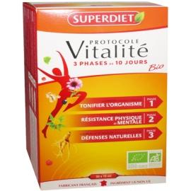 Superdiet Protocole Vitalité Bio 30 Ampoules