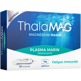 ThalaMAG Plasma Marin Ressourçant 20 Ampoules
