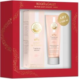 Roger & Gallet Coffret Extrait De Cologne Tubéreuse Hédonie 30 ml