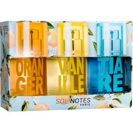 Solinotes Coffret Eau De Parfum Oranger - Vanille - Tiaré