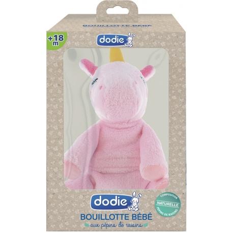 Dodie Bouillotte Bébé + 18 Mois Licorne