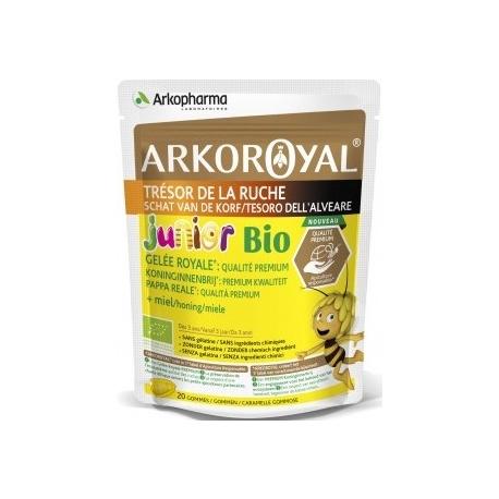 Arkopharma Arkoroyal Trésor De La Ruche Gomme Junior Bio x 20