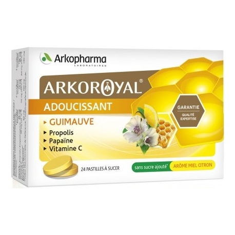 Arkopharma Arkoroyal Adoucissant x 24 Pastilles