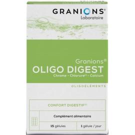 Granions Oligo Digest 15 Gélules