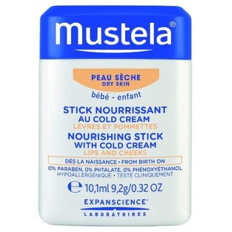 Mustela Bébé Stick Nourrissant au Cold Creama 10 g