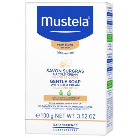 Mustela Bébé Savon Surgras au Cold Cream 100g