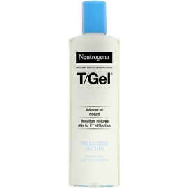 Neutrogena T/Gel Shampooing Antipelliculaire - Pellicules Sèches 250 ml