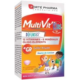 Forté Pharma MultiVit' Kids Défenses 30 Comprimés