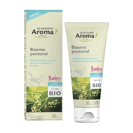 Le Comptoir Aroma Baby Baume Pectoral bio 50 ml