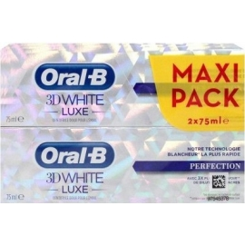 Oral-B 3D white Luxe Dentifrice Perfection 2 x 75 ml