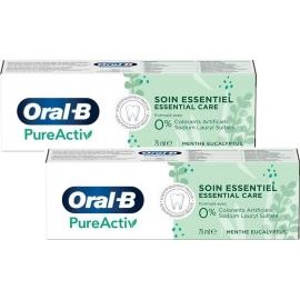 Oral-B Dentifrice PureActiv 2 x 75 ml