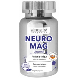 Biocyte Longevity NeuroMag 60 Gélules