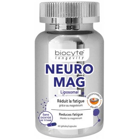 Biocyte Longevity NeuroMag 60 Gélules