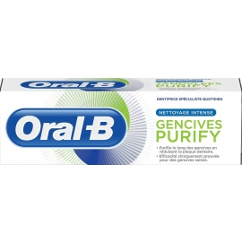 Oral-B Dentifrice Gencives PURIFY Nettoyage Intense 75 ml
