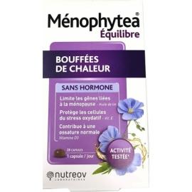Ménophytea Bouffée De Chaleur Sans Hormone 28 Capsules