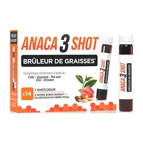 Anaca3 Shot Brûleur De Graisses x 14