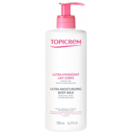 Topicrem Ultra-hydratant Lait Corps 500 ml