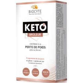 Biocyte Keto Brûleur Perte De Poids 60 Gélules