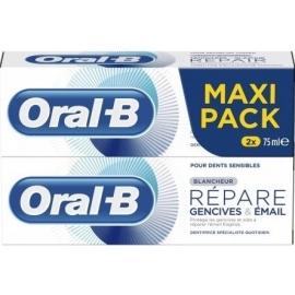 Oral-B Blancheur Répare Gencives & émail 2 x 75 ml