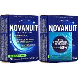 Novanuit Triple Action 2 x 30 Gélules