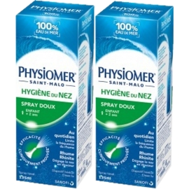 Physiomer hygiène du nez 2 x 135 ml