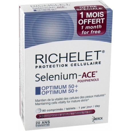RICHELET ANTI AGE SELENIUM-ACE PROGRESS 50_90 COMPRIMES