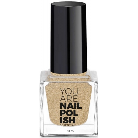 YOU ARE Vernis à Ongles Cold Gold 13 ml