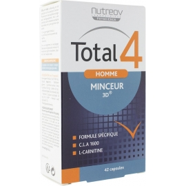 Nutreov Physcience Homme Total 4 Minceur 3D 42 Capsules