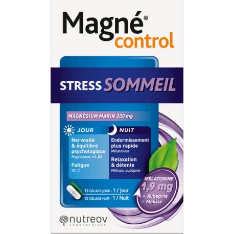 Magné Control Stress Sommeil 30 Capsules