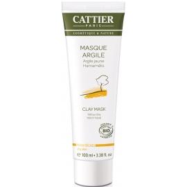Cattier Masque Argile Jaune Bio 100 ml