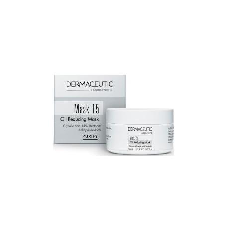 Dermaceutic Mask 15 Réducteur de Sébum 50 ml
