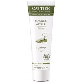 Cattier Masque Argile Verte Bio 100 ml