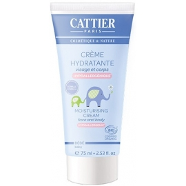 Cattier Bébé Crème Hydratante Bio 75 ml