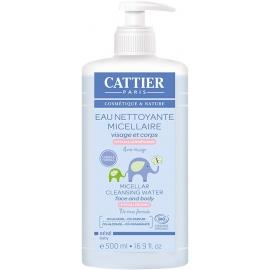 Cattier Bébé Eau Nettoyante Micellaire Bio 500 ml